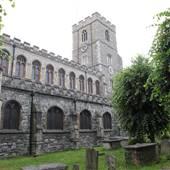 All Saints Church/Vicarage Gardens