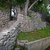 Pasadena House With Rock Path