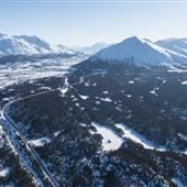 White Pass Summit Aerials