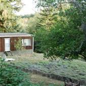 5 acre property with lavender, sage, 2 bedroom 1 bathroom mobile home