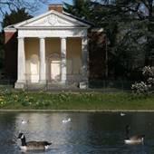 Gunnersbury Park Temple and Pond