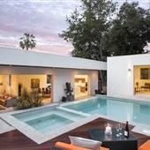 California Modern Home Estate Mid-Century Vibe