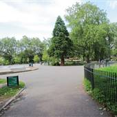 Bishops Park - Play area and Café