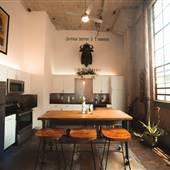 Urban Deep Ellum Loft/Studio w/IndustrialMid-Century Styling - HUGE WINDOWS & NATURAL LIGHT