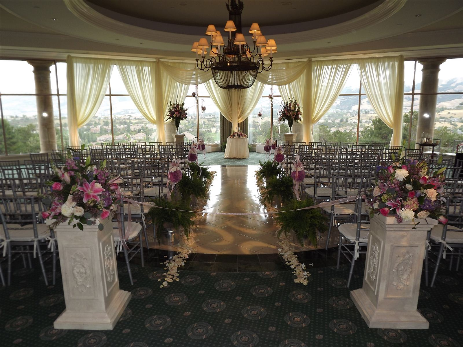 Silver Creek Valley Country Club Main Ballroom Seating For 280