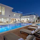 Modern Newport Beach Home with Pool, Natural Light, Rooftop Decks, Pool and Fire Pits