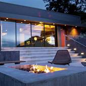 Ranch Moderne - an open architecture home on 5 acres in Malibu with Vintage Sports cars, Airstream & Panoramic Views.