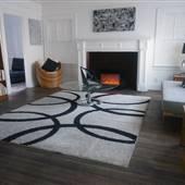 Craftsmen Home With Mid-Century Decor Plus Guest House & Garage