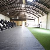 Boxing and Treadmill Fitness Gym
