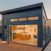 Indoor/Outdoor, Architectural, Modern, Contemporary new-built home located on an exclusive area of Highland Park/Eagle Rock