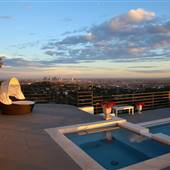POOL IN THE HOLLYWOOD SKIES