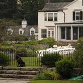 Adirondack Colonial with Elegant Poolhouse