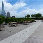10 Queen Street Place, Roof Terrace