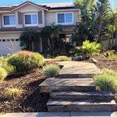 Lush Tropical Backyard Home