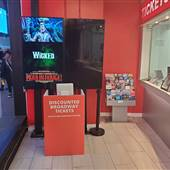 Broadway Pass Booth On Times Square