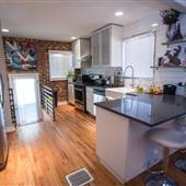 420 Friendly Contemporary/Industrial 1939 Home!