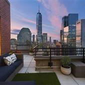 PH Apartment with wrap-around terrace/ balcony , Lower Manhattan